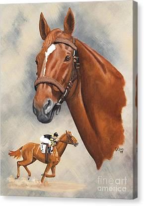 Man O'war Canvas Print by Pat DeLong