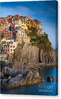 Europe Canvas Print - Manarola Afternoon by Inge Johnsson