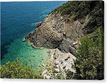 Marciana Marina, Isola D'elba, Elba Canvas Print by Nico Tondini