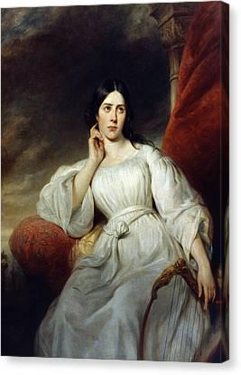 Maria Malibran (1808-1836) Canvas Print by Granger