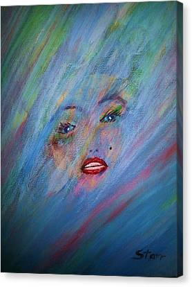 Marilyn Canvas Print by Irving Starr