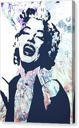 Marilyn Canvas Print by Trisha Buchanan