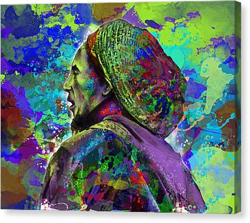 Dread Canvas Print - Marley 8 by Bekim Art
