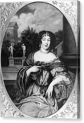 Marquise De Montespan (1641-1707) Canvas Print by Granger