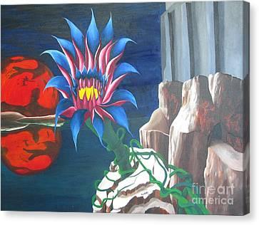 Mars Rising Canvas Print by Richard Dotson