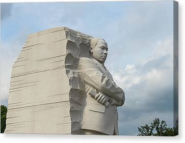 Martin Luther King Canvas Print by Brandon Bourdages