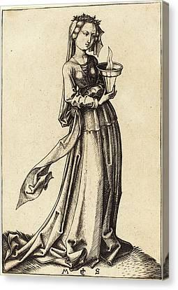Martin Schongauer German, C. 1450 - 1491 Canvas Print