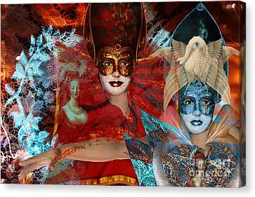 Mascarade Canvas Print