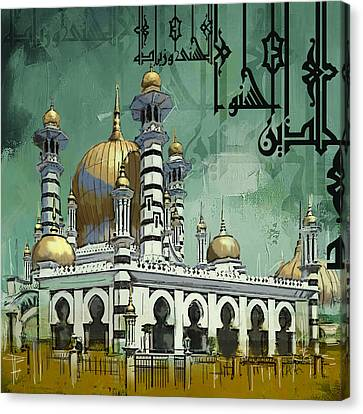 Masjid Ubudiah Canvas Print by Corporate Art Task Force