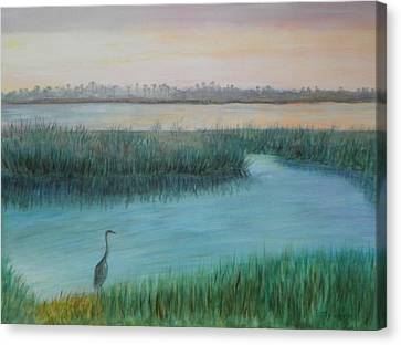 Matanzas River Morning Canvas Print
