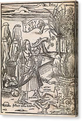 Mathematical Logic, 1503 Canvas Print