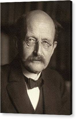 Quantum Theory Canvas Print - Max Planck by American Philosophical Society