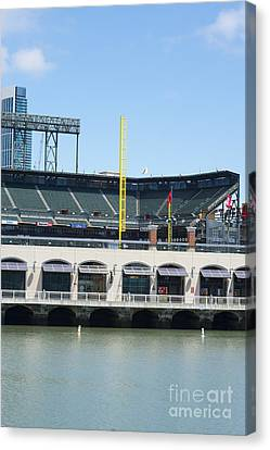 Mc Covey's Cove And 2014 World Series Canvas Print by David Bearden