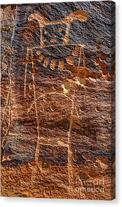 Mckee Springs Petroglyph - Utah Canvas Print