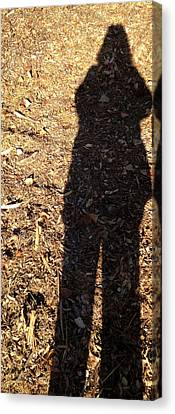 Me And My Shadow Canvas Print by Carolyn Donnell