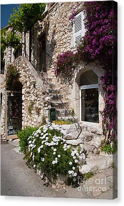 Medieval Saint Paul De Vence 3 Canvas Print by David Smith