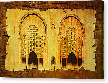 Medina Of Faz Canvas Print by Catf