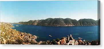 Mediterranean Sea Viewed Canvas Print