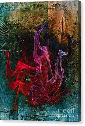Medusa Canvas Print by Klara Acel