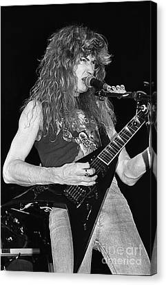 Megadeth Canvas Print by Concert Photos