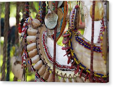 Melanesia, Papua New Guinea, Dobu Island Canvas Print by Cindy Miller Hopkins