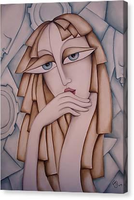 Memory Canvas Print by Simona  Mereu