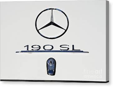 1962 Mercedes 190 Sl Canvas Print by George Atsametakis