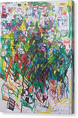 Meriting The Multitudes Canvas Print by David Baruch Wolk