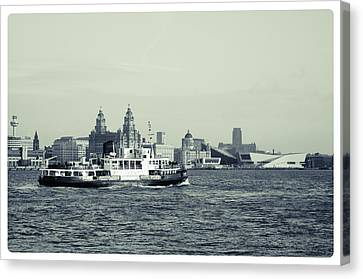 Mersey Ferry Canvas Print