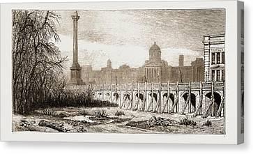 Metropolitan Improvements, London, Uk Canvas Print by Litz Collection