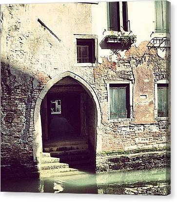 Iphonesia Canvas Print - #mgmarts #venice #italy #europe by Marianna Mills