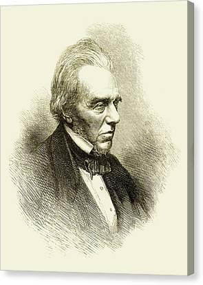 Michael Faraday Canvas Print