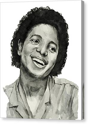 Michael Jackson 7 Canvas Print by Bekim Art