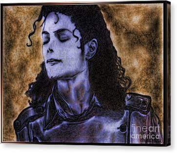 Michael Jackson Canvas Print by Betta Artusi