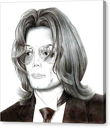 Jackson 5 Canvas Print - Michael Jackson  by Kelz Lewis