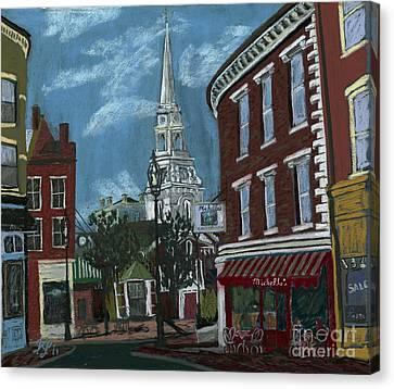Michelle's On Market Square Canvas Print