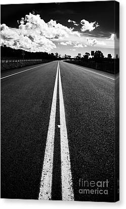 Middle Road Canvas Print by Jorgo Photography - Wall Art Gallery