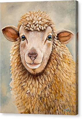 Mildred Canvas Print by Laura Carey