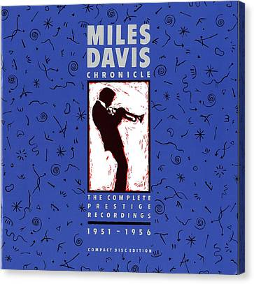 Miles Davis All Stars -  Chronicle Canvas Print by Concord Music Group