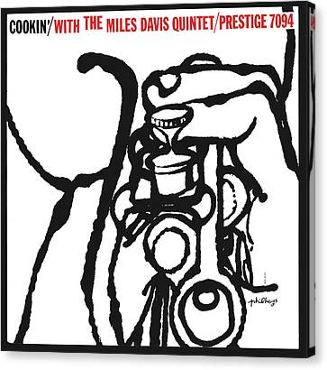 Miles Davis Quintet -  Cookin' With The Miles Davis Quintet Canvas Print by Concord Music Group