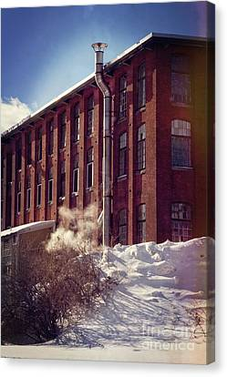 Mill Canvas Print by HD Connelly