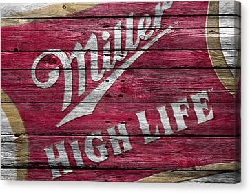 Miller High Life Canvas Print