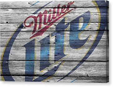 Handcrafted Canvas Print - Miller by Joe Hamilton