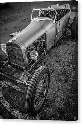 Millers Chop Shop Track T Toyota Canvas Print by Yo Pedro
