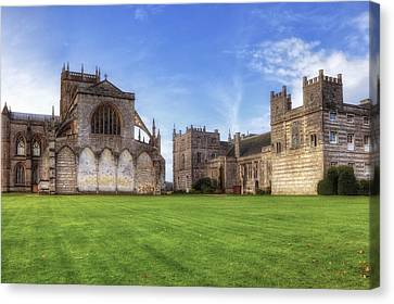 Milton Abbey Canvas Print by Joana Kruse
