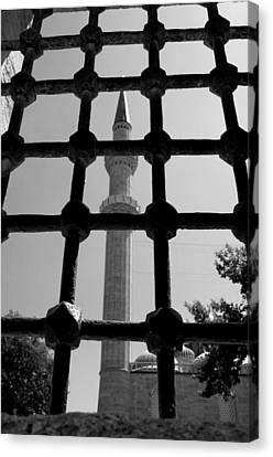 Minaret Canvas Print by Ernesto Cinquepalmi