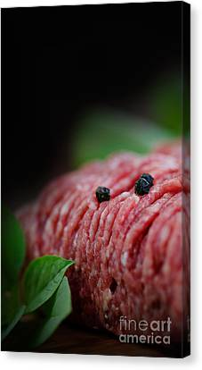 Npetolas Canvas Print - Minced Meat by Mythja  Photography
