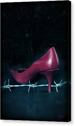 Mind Your Steps Canvas Print by Joana Kruse