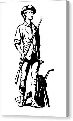 Minuteman Canvas Print by Granger