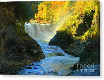 Misty Canvas Print by Kathleen Struckle
